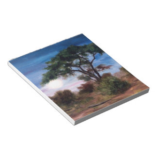African Moon Notepad