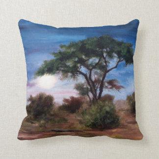 African Moon Pillow