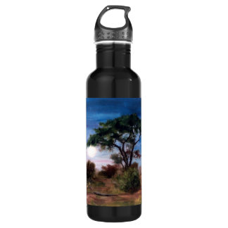 African Moon Stainless Steel Water Bottle