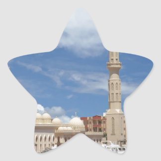 african mosque star sticker