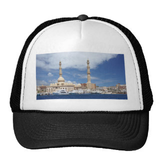 african mosque trucker hat
