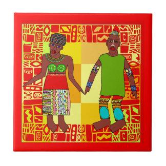 African Motif  Ceramic Tiles