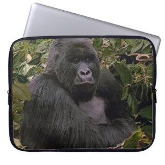 African Mountain Gorilla Wildlife Laptop Sleeve