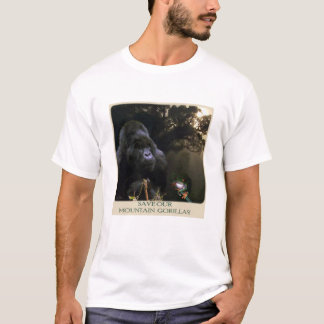 African MOUNTAIN GORILLAS Wildlife Supporter Shirt