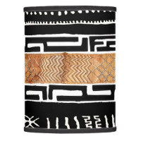 African Mud Cloth Pattern Lamp Shade
