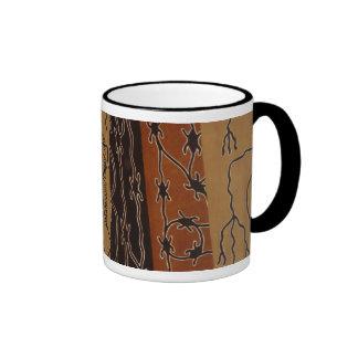 African Mudcloth Coffee Mugs