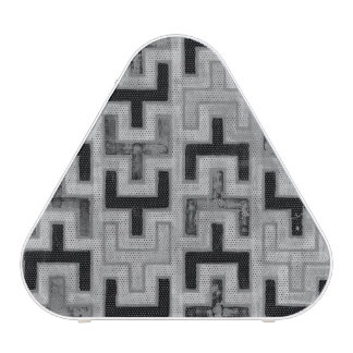 African Mudcloth Textile with Geometric Patterns Bluetooth Speaker