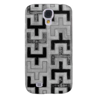 African Mudcloth Textile with Geometric Patterns Samsung Galaxy S4 Cover