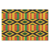 African Multi Color Pattern Print Design Tissue Paper