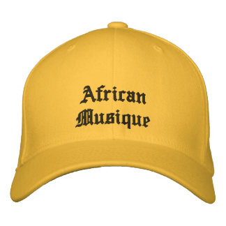 African Musique hats Embroidered Hat