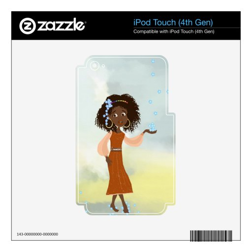 African Native Princess skin for iPod Touch