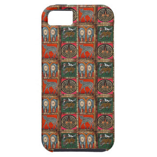 African Nguni Spotted Cow Calf Orange Print iPhone SE/5/5s Case