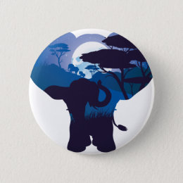 African Night with Elephant 4 Button