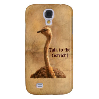 African Ostrich Funny Wildlife iPhone 3 Case