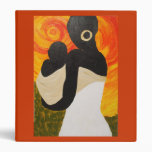 African Painting - End of the Day, K.Turnbull Ar 3 Ring Binders