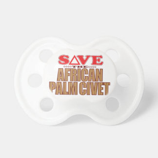 African Palm Civet Save Pacifier