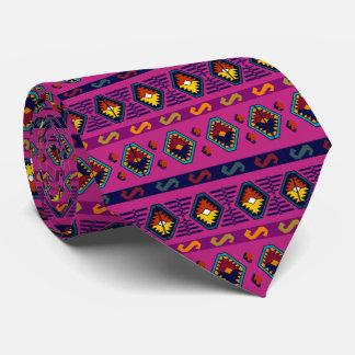 African patern neck tie