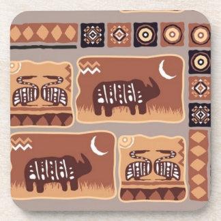 African Pattern Coaster