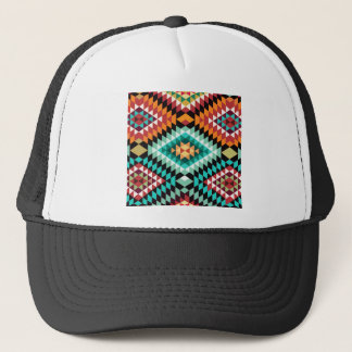 African Pattern Colourful Design Trucker Hat