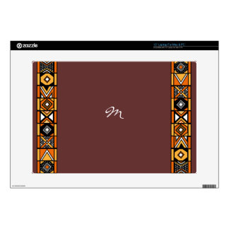 """African pattern decals for 15"""" laptops"""