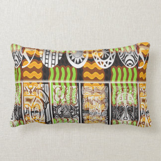 African Pattern Design Lumbar Pillow