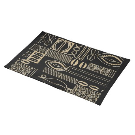 African Pattern Design Placemat