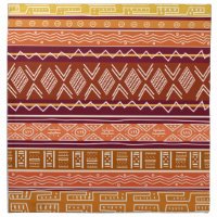 African Pattern Mix Napkins