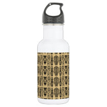 African Pattern Stainless Steel Water Bottle