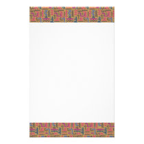 African Pattern Stationery