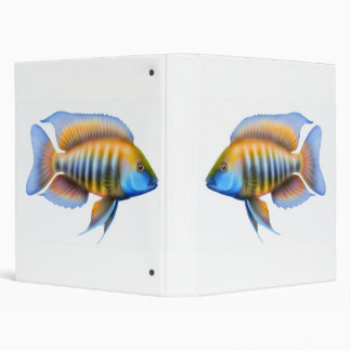 African Peacock Cichlid Avery Binder