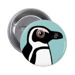 African Penguin Buttons