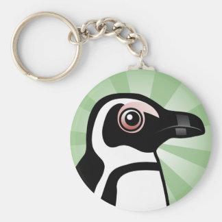 African Penguin Keychain