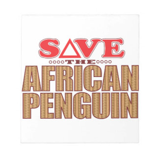 African Penguin Save Notepad
