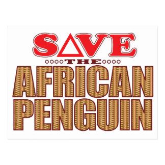 African Penguin Save Postcard