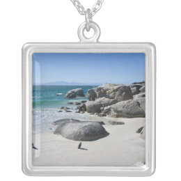 African Penguins, formerly known as Jackass 3 Silver Plated Necklace