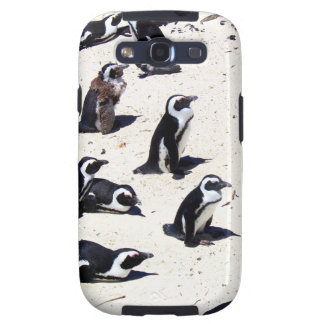 African Penguins on Boulders Beach Galaxy SIII Covers