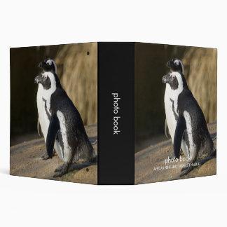 African Penguins • Photo Book Vinyl Binder