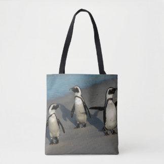 African Penguins | Spheniscus Demersus Tote Bag