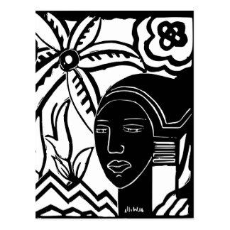 African Phantasy Postcard