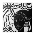 African Phantasy Tile