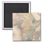 African Politics 2 Inch Square Magnet