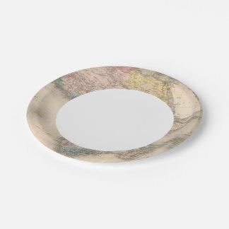 African Politics Paper Plate