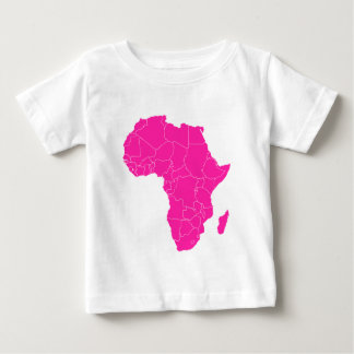 """African Pride"" collection continent shirt"