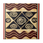 African Primordial Decor Tile