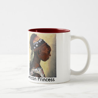 African Princess, African Prince Two-Tone Coffee Mug