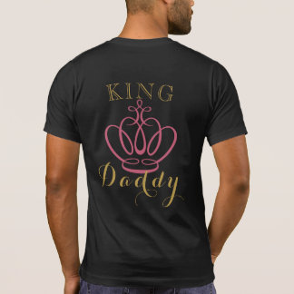 African Princess KING DADDY Baby Shower T Shirt