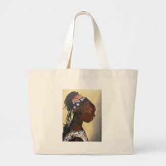 African Princess Large Tote Bag