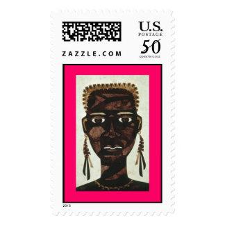 African Princess Postage