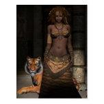 African Princess Postcard