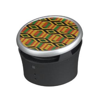 African print bluetooth speaker